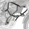 Velmi pevné ocelové rámy Givi/Kappa pro BMW F800GS 2013+, F700GS 2013+, . Velmi dobře ochrání důležité části motocyklu při pádu. Barva: černá