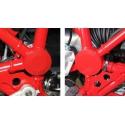 Červené krytky na rám pro R1200GS Rallye 2012-2013