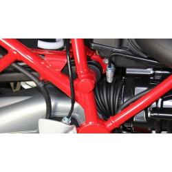 Červená krytka na pravou stranu rámu R 1200 GS Rallye 2012-2013