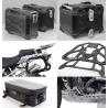 Adventure sada černá pro R1200GS Adventure 2006-2013 (3x kufr, nosiče, kryt motoru, tašky)
