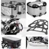Adventure sada černá pro R1200GS Adventure  LC 2014+ (3x kufr, nosiče, padací rám, kryt motoru, tašky)