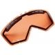 Náhradní plexi pro BMW GS brýle, oranžové