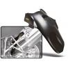 Vnitřní zadní blatník pro BMWR1200GS 2004-2012 a R1200GS Adventure 2006-2013. Vhodné pro verze tlumičů s ESA i bez ESA. Účinná ochrana tlumiče a nohou proti vodě a nečistotám. Snadná montáž během 10 minut.