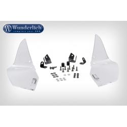 Boční deflektory Wunderlich Ergo, čiré, pro R1200GS LC 2013+