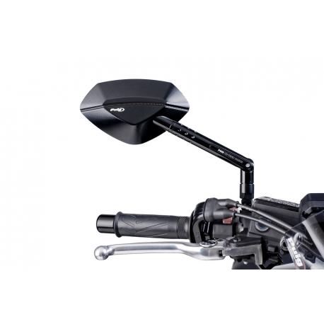 Nastavitelná černá zrcátka Puig Hi-Tech I pro BMW R1200GS/A LC 2013+