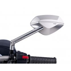 Nastavitelná stříbrná zrcátka Puig Hi-Tech I pro BMW R1200GS/A 2004-2012