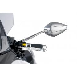 Nastavitelná stříbrná zrcátka Puig Hi-Tech III pro BMW R1200GS/A 2004-2012