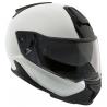 """Zcela nová, inovativní, dokonalá. Přilba BMW System 7 Carbon v barvách """"Light White"""". Klíčové vlastnosti: celokarbonová skořepina nejlepší aerodynamické vlastnosti vylepšený výhled odnímatelný chránič brady zabudovaná sluneční clona nízká hmotnost - 1580g"""