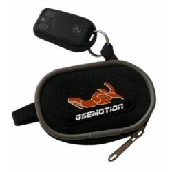 Kapsa na klíče GSemotion, černo-oranžová