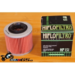 Olejový filtr Hiflo 151 pro BMW F650GS/Dakar 2000-2007, G650GS
