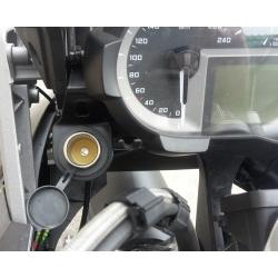 12V zásuvka pro BMW R1200GS/A LC 2013+