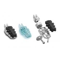 Nastavitelné ergonomické stupačky SW-Motech pro R1200GS/A 2004-2012, R1150GS/A, R1100GS