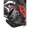 Robustní padací rám značky Heed pro BMW F800GS 2008-2016. Komplexní ochrana motoru i horních plastových částí. Velmi pevná konstrukce. Barva: černá