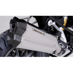 Výfuk Remus 8 Stainless Steel pro R1200GS/A LC 2016+ (euro 4)