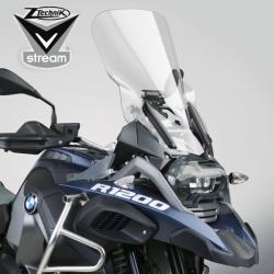 Plexi Ztechnik čiré cestovní EXTRA vysoké 56cm pro BMW R1250GS/A, R1200GS/A LC 2013-2018
