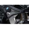 Horní ocelový padací rám SW-Motech pro BMW R1250GS 2018+ a R1200GS LC 2017-2018. Použitelné s originálním spodním padacím rámem BMWnebo spodním rámem SW-MotechproBMW R1200GS LC 2013-2018a spodním rámem SW-Motech proBMW R1250GS 2018+ barva černá průměr trubky 22mm