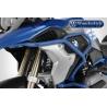Horní ocelovýpadací rám Wunderlichpro BMW R1250GS a R1200GS LC 2017-2018. Použitelné s originálním spodním padacím rámem BMW, modrým padacím rámem spodním Wunderlichi dalšími rámy. barva modrá