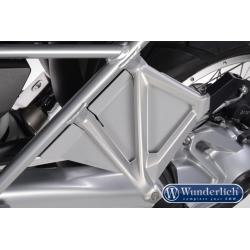 Ochranné kryty proti vodě od zadního kola Wunderlich pro R1250GS, R1200GS LC 2013-2018, stříbrné