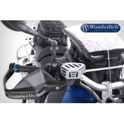 Kryt brzdové nádobky Wunderlich pro BMW R1200GS/A LC 2013+, stříbrný