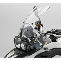 Vyšší cestovní plexi pro BMW F800GS, F650GS 2008+