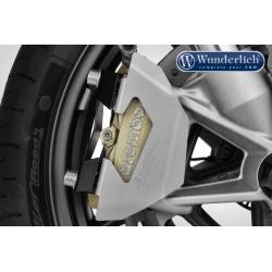 Kryty předních brzdových třmenů Wunderlich pro BMW R1250GS/A, R1200GS/A LC 2013-2018, stříbrné