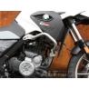 Padací rám Altrider pro F650GS 2000-2007, G650GS/Sertao je vyroben z nerez oceli. Nelze namontovat společně soriginálním padacím rámem BMW Dostupné v barvách stříbrná a černá (vyberte při vkládání do košíku)