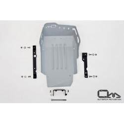 Kryt motoru Outback Motortek pro BMW F800GS, F700GS, F650GS 2008+, stříbrný