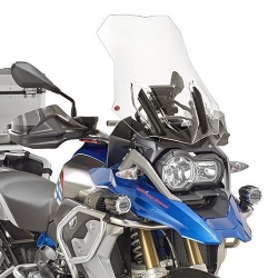 Cestovní plexi Givi/Kappa 54cm pro BMW R1250GS/A, R1200GS/A LC 2013-2018, čiré