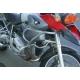 Horní padací rám Krauser pro R1200GS 2004-2007, stříbrný
