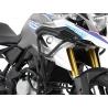 Doplňující horní padací rám Hepco Becker pro BMW G310GS, černý. Rozšířená ochrana motorky, pouze v kombinaci se spodním padacím rámem Hepco Becker.