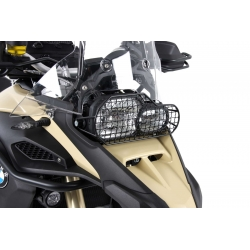Ocelový kryt předního světla Hepco Becker pro BMW F800GS Adventure