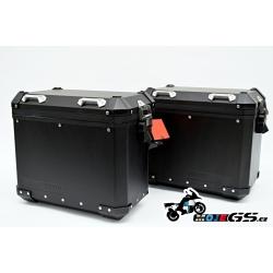 Černé originální hliníkové boční kufry R1200GS/A LC 2013+