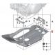 Kryt motoru BMW pro F850GS, F750GS