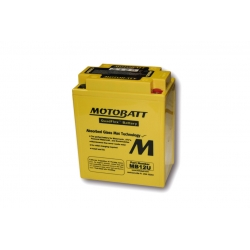 Baterie Motobatt MB12U 12V 15Ah pro BMW F650GS/Dakar 2000-2007, G650GS