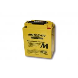 Baterie Motobatt MB12U 12V 15Ah pro BMW F650GS/Dakar 2000-2007