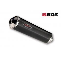 Výfuk BOS carbon pro BMW F800GS, F700GS, F650GS Twin
