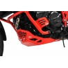 Kryt motoru Ibex pro BMW F800GS/A, F700GS, F650GS 2008+, červený