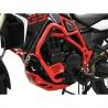 Padací rámIbex pro BMW F800GS 2013+, F700GS Vysoce pevný ocelový rám v červené barvě poskytuje dokonalou ochranu motocyklu. červená barva