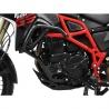 Padací rám Ibex pro BMW F800GS 2013+, F700GS Vysoce pevný ocelový rám v černé barvě poskytuje dokonalou ochranu motocyklu. černá barva