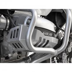 Kryty hlav válců Ibex pro BMW R1100GS, stříbrné