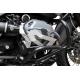 Kryt hlav válců Ibex pro R1200GS 2010-2012, stříbrný