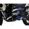 Spodní padací rám Ibex V2 pro BMW R1200GS LC 2013-2018. Včetně kompletního montážního materiálu, snadná montáž. černá barva volitelně doplňtehorním padacím rámem Ibex pro R1200GS LC 2013+