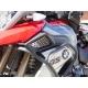 Kryty sání Altrider pro BMW R1200GS LC 2013-2016, stříbrné