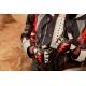 Rukavice GS Rallye 2018, černo-červené