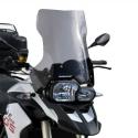 Cestovní plexi Ermax 45cm pro BMW F800GS, F650GS 2008+, lehce kouřové