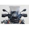 Sportovní plexi WRS 48cm pro BMW R1200GS/A LC 2013+, lehce kouřové