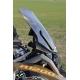 Sportovní plexi WRS 48cm pro BMW R1200GS/A LC 2013+, tmavě kouřové