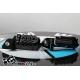Nastavitelné stupačky BMW R1250GS/A, R1200GS/A LC 2013+, F850GS/A, F750GS, černé