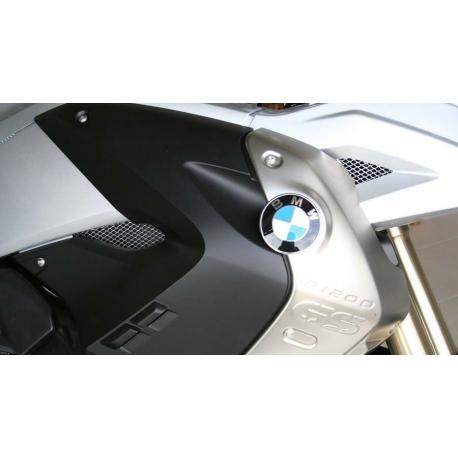 Hliníkové mřížky do bočních kapot pro BMW R1200GS 2008-2012