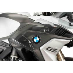 Spodní postranní deflektory Puig pro BMW R1200GS LC 2013+, lehce kouřové